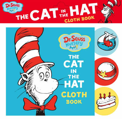 """Dr. Seuss Nursery """"Cat in the Hat"""" Cloth Book"""