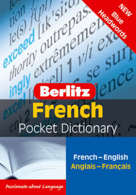 French Berlitz Pocket Dictionary