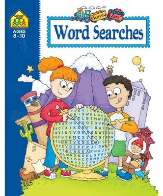 School Zone Activity Zone: Word Searches 8-10 years