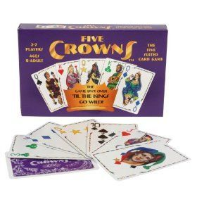 Five Crowns: The Five Suited Card Game