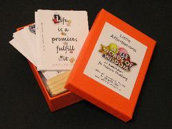 Wise Words: Box of 24 Clever Messages fo Motivation (Little Affirmation Cards)