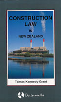Construction Law in New Zealand (1999)