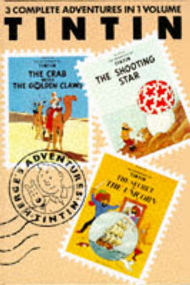 Tintin 3 in 1 Vol. 3:The Crab with the Golden Claws / The Shooting Star / The Secret of the Unicorn