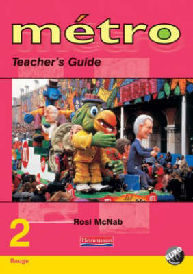 Metro 2 Rouge: Teachers Guide - Revised Edition
