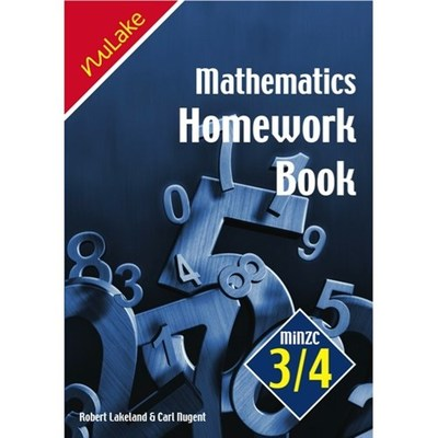 Maths Homework Book MiNZC 3/4 - (Year 8)