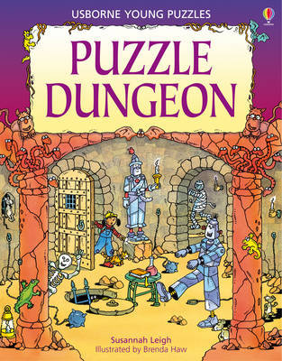 Puzzle Dungeon (Usborne Young Puzzles)