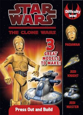 Star Wars Clone Wars Press Out and Build