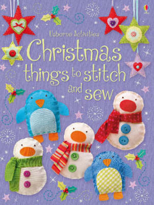 Christmas Things to Stitch and Sew (Usborne Activities)