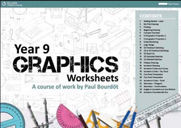 Year 9 Graphics A3 Workbook/Worksheets