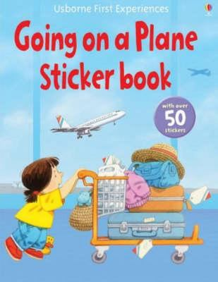 Going on a Plane (Usborne First Experiences Sticker Book)