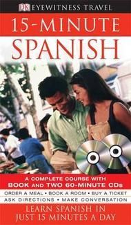 15 Minute Spanish: Book + CDs