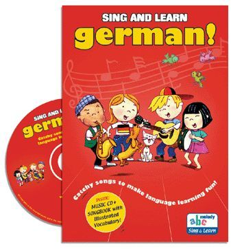 Sing and Learn German Book & CD