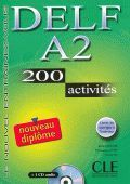 DELF A2 200 activities + CD