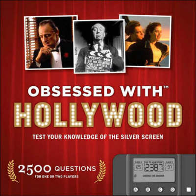 Obsessed with...Hollywood (Computerised Quiz Game Book! 2,500 Questions!)