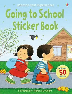 Going to School Sticker Book (Usborne First Experiences)