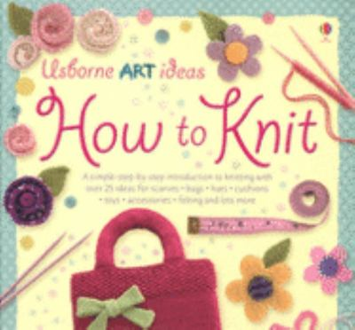 How to Knit- out of print