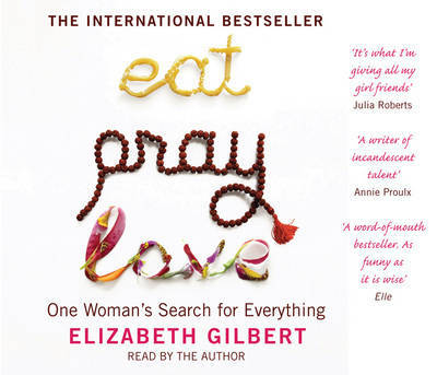 Eat, Pray, Love (5 x audio CD)