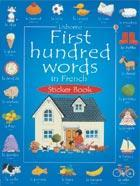 First Hundred Words in French - Sticker Book