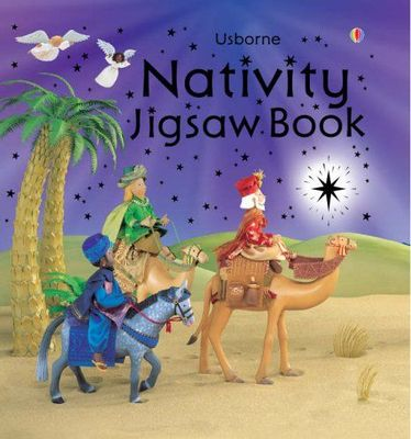 Nativity Jigsaw Book
