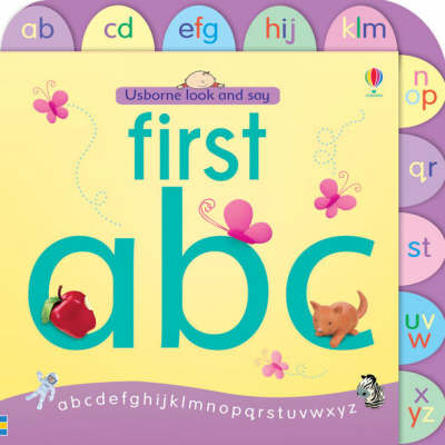 Usborne Look and Say: First ABC