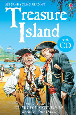 Treasure Island (Usborne Young Reading Series 2) Book/CD