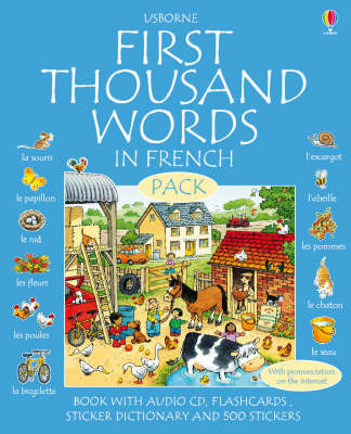 First 1000 Words in French Pack
