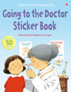 Going to the Doctor Sticker Book: Usborne First Experience
