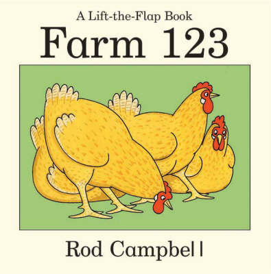 Farm 123 (A lift-the-Flap Board Book)