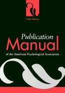 Publication Manual of the American Psychological Association (5th ed, 2001)