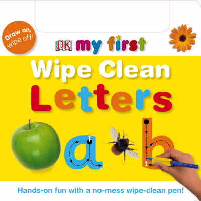 Letters (My First Wipe Clean)