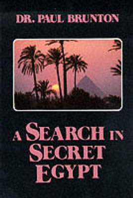 A Search in Secret Egypt