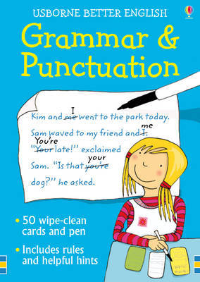 Usborne Grammar and Punctuation Cards