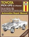 Toyota Pick-ups (1979-1995) Haynes Repair Manual