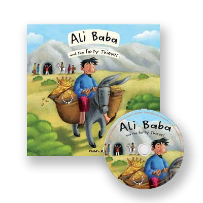 Ali Baba & the 40 Thieves (Flipup Fairy Tales Book & CD)