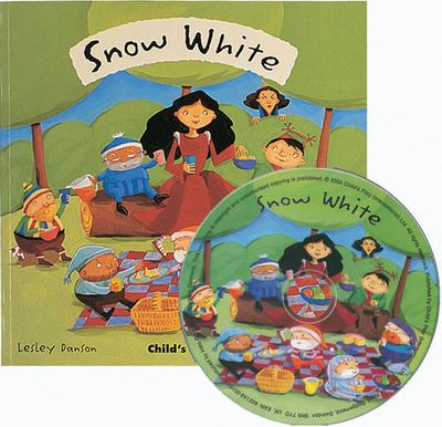 Snow White (Flip-Up Fairy Tales Book & CD)