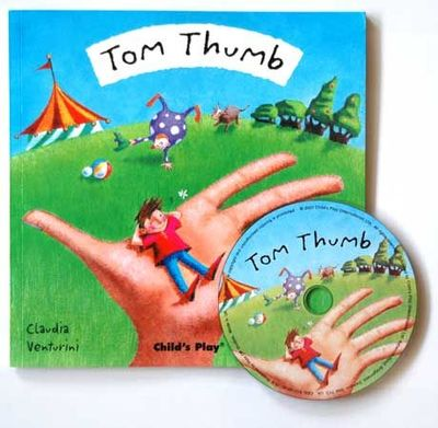 Tom Thumb (Flip-Up Fairy Tales Book & CD)