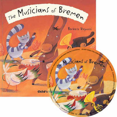 The Musicians of Bremen (Flip-Up Fairy Tales Book & CD)