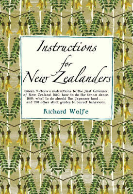 Instructions for New Zealanders
