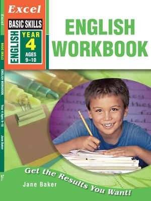 Excel: English Workbook Year 4