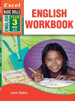 Year 3 English Workbook - Excel Basic Skills (Ages 8-9)