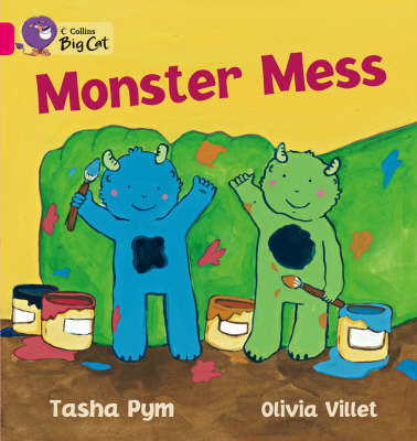 Monster Mess (Big Cat Pink B / Band 1B)