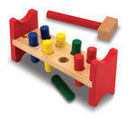 Pound-A-Peg Wooden Ages 2+