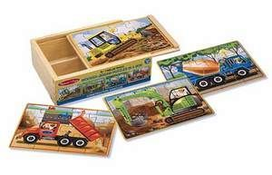 M&D - Construction Puzzles in a Box