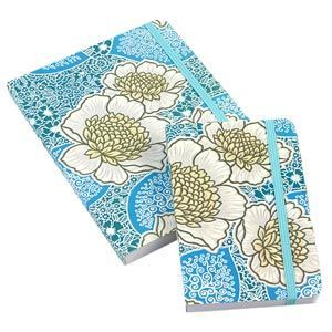 Aqua Pocket size journal