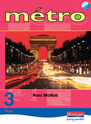 Metro 3 Rouge: Pupil Book - Revised Edition