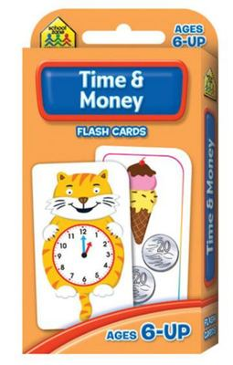 Time and Money (School Zone Flashcards)