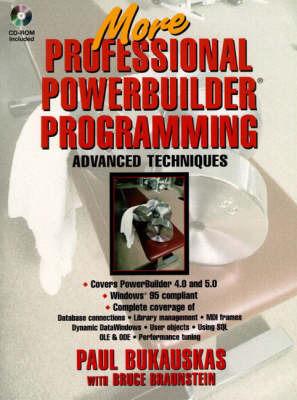 Professional Powerbuilder 4.0 Programming