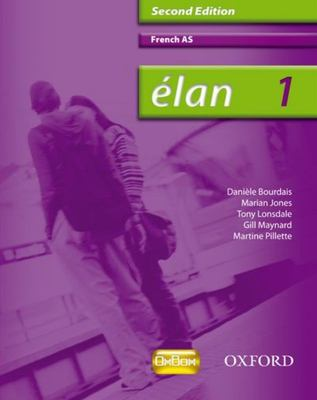 Elan 1 French AS Student Book 2 Ed - Oxford