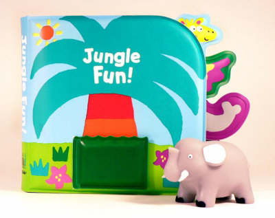 Jungle Fun! (Bath book & squirting toy)