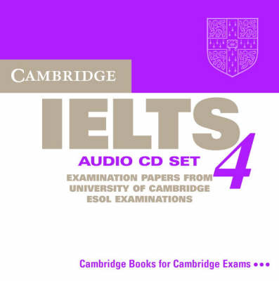 Cambridge IELTS 4 Audio CD Set
